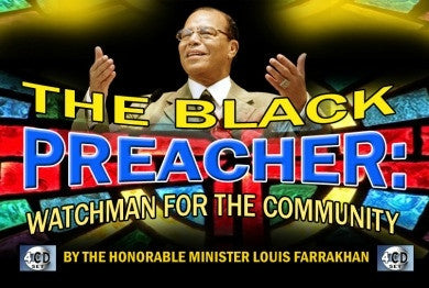 The Black Preacher: Watchman For The Community (CD Package)