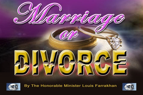 MARRIAGE OR DIVORCE (CD)