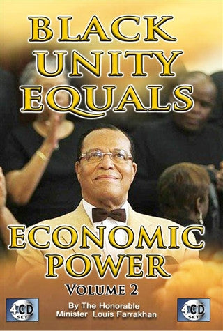 Black Unity = Economic Power Pt 2 (Cd Package)