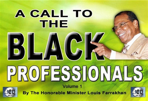 A Call to the Black Professional Pt 1 (CD Package)