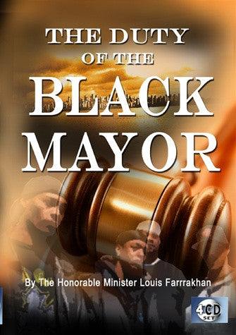The Duty Of The Black Mayor (CD)
