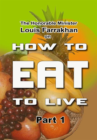 How To Eat To Live Pt 1 (CD Package)