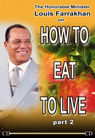 How To Eat To Live Pt 2 (CD Package)