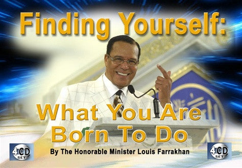 Finding Yourself: What You Are Born To Do (CD)