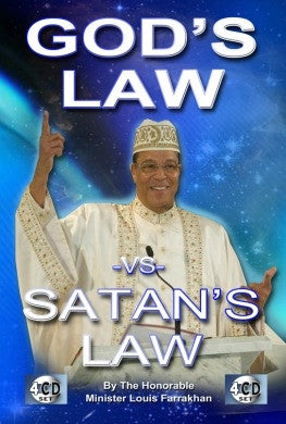 Satan's Law Versus God's Law (CD)