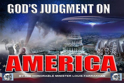 God's Judgment On America (CD Package)