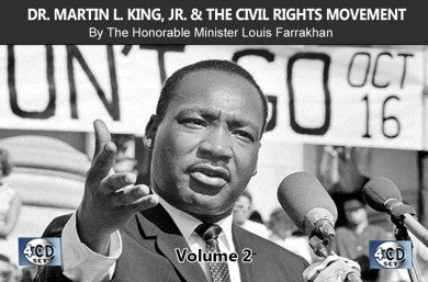 Dr. Martin Luther King and the Civil Rights Movement Vol. 2 (CDPACK)