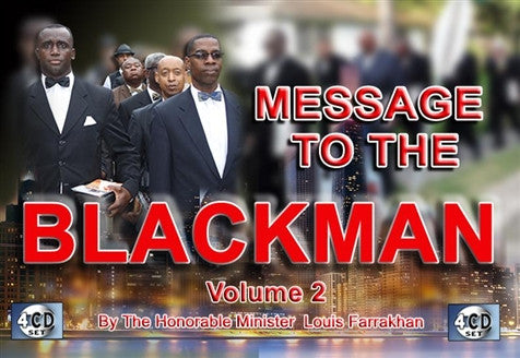 Message To The Black Man pt 2 (CD)