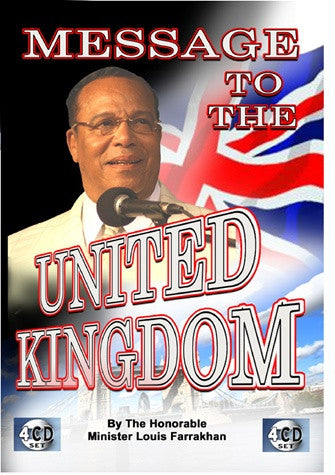 Message To The United Kingdom (CD)