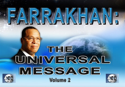 Farrakhan: The Universal Message Vol 2 (CDPACK)