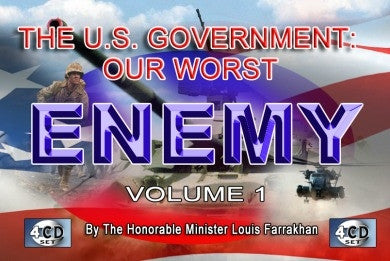 U.S. Government Our Worst Enemy (CD Package)