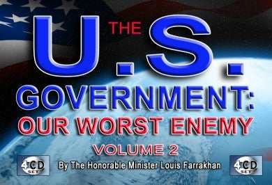 The U.S. Government Our Worst Enemy Pt. 2 (CD Package)