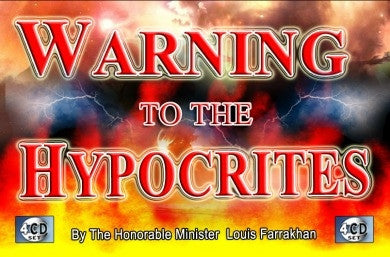Warning to the Hypocrites (CD Package)