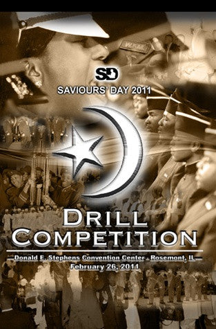 2011 Saviours' Day Drill Competition (DVD)