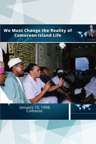 Comoros: We Must Change the Reality of Comorean Island Life
