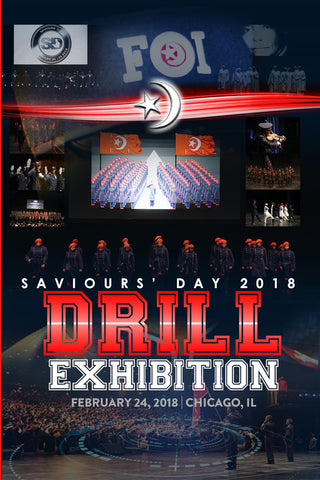 Drill Exhibition - Saviours' Day 2018