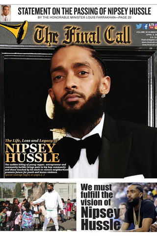 Nipsey Hussle - Final Call Newspaper Vol. 38 No. 27