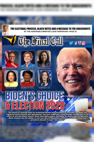 Final Call Newspaper Vol. 39 No. 44