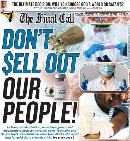 Final Call Newspaper Vol. 39 No. 50