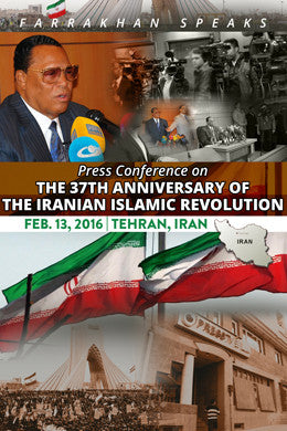 37th Anniv, Iranian Islamic Revolution: Press Conference