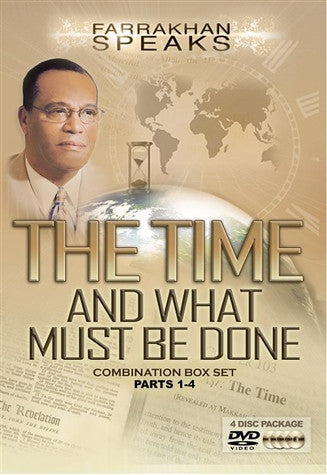 The Time And What Must Be Done Combination Box Set Parts 1-4 (DVD)