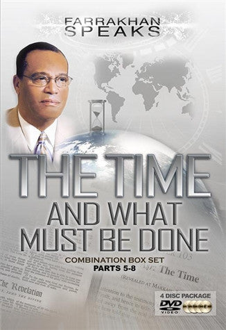 The Time And What Must Be Done Combination Box Set Parts 5-8 (DVD)