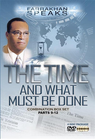 The Time And What Must Be Done Combination Box Set Parts 9-12 (DVD)