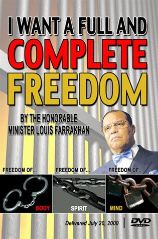 I Want a Full and Complete Freedom (DVD)