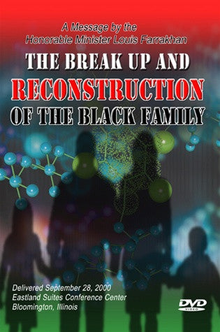 The Break Up and Reconstruction of the Black Family