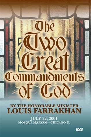 The Two Great Commandments (DVD)