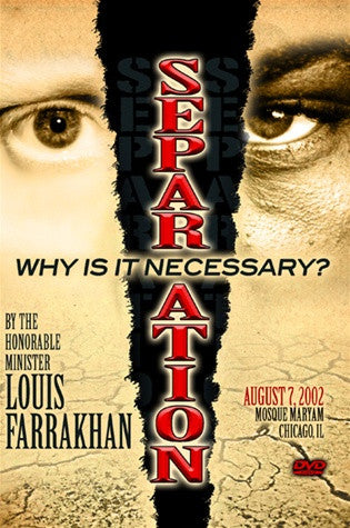 Separation: Why Is It Necessary?