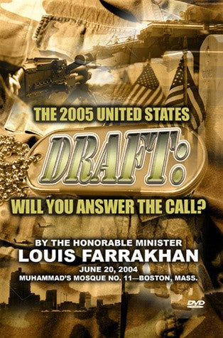 U.S. Draft, Will You Answer the Call (DVD)