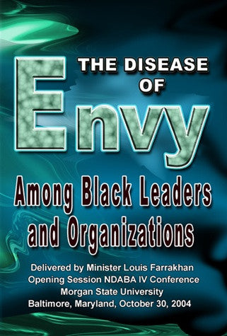 The Disease of Envy Among Black Leaders and Organizations (DVD)