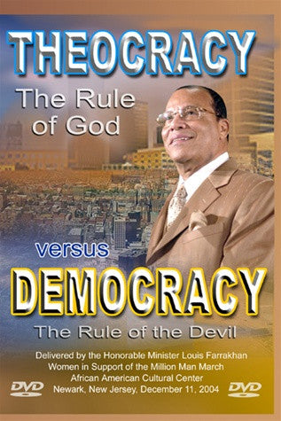 Theocracy:The Rule of God vs. Democracy: The Rule of the Devil