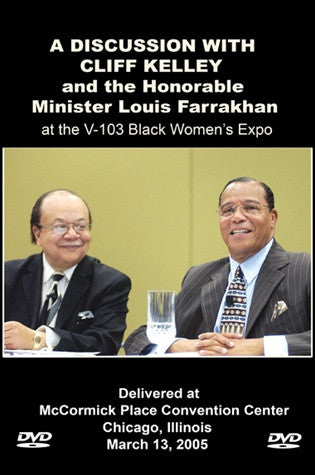 Discussion With Cliff Kelley at Black Womens Expo