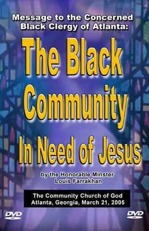 Message to the Concerned Black Clergy of Atlanta (DVD)