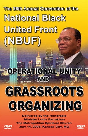 Operational Unity & Grassroots Organizing (DVD)