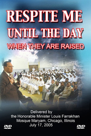 Respite Me Until the Day When They Are Raised (DVD)