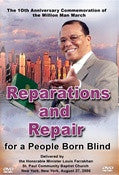 Reparations and Repair for a People Born Blind (DVD)