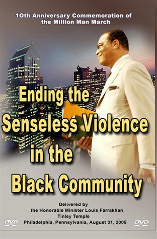 Ending the Senseless Violence in the Black Community