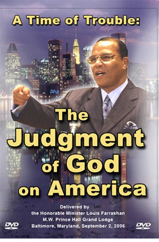 A Time of Trouble: The Judgment of God on America (DVD)