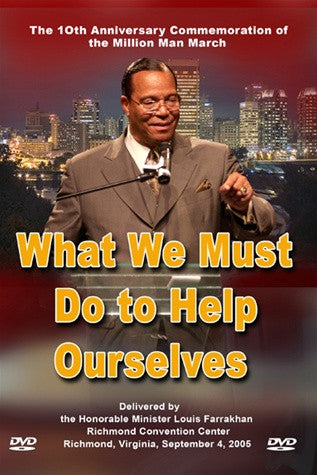 What We Must Do to Help Ourselves (DVD)