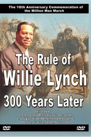 The Rule of Willie Lynch 300 Years Later