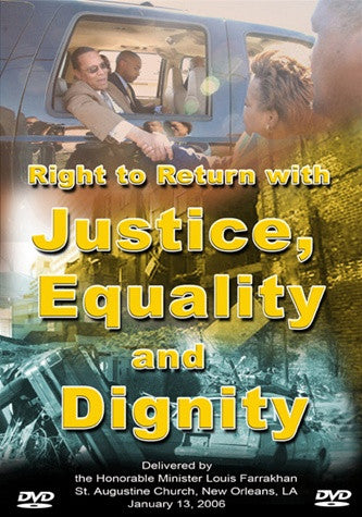 The Right to Return With Justice (DVD)