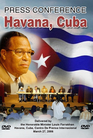 Press Conference in Havana, Cuba (DVD)