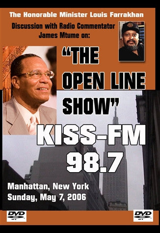KISS-FM New York Interview: The Honorable Minister Louis Farrakhan (DVD)