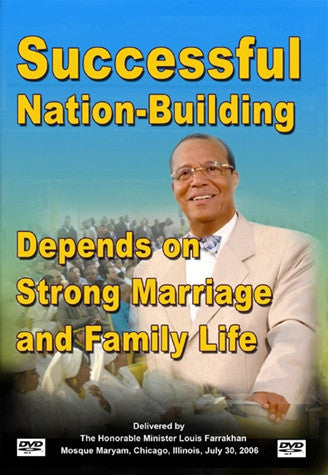 Successful Nation Building Depends on Strong Marriage and Family Life (DVD)