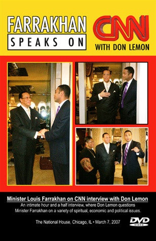 CNN Interview w/ Don Lemon (DVD)