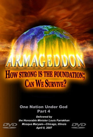 Armageddon-How Strong is the Foundation: Can We Survive? (DVD)
