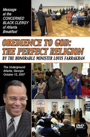 Obedience to God: The Perfect Religion (DVD)